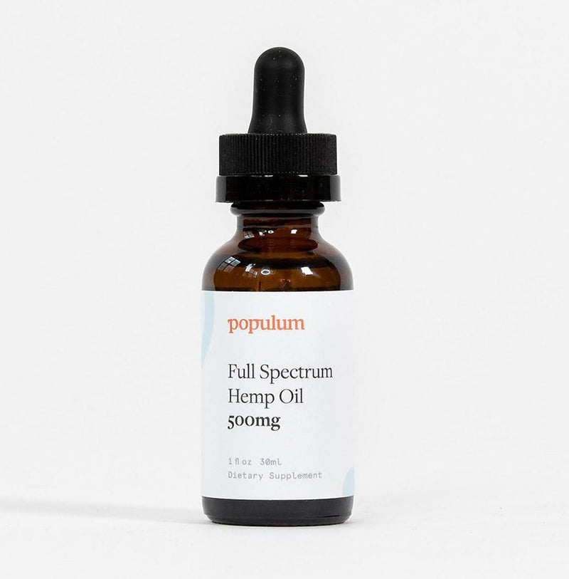Populum Full-Spectrum Hemp CBD Oil