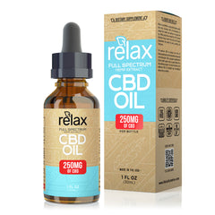 Relax Full-Spectrum CBD Oil