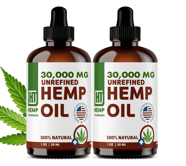 hemp oil tea skincare