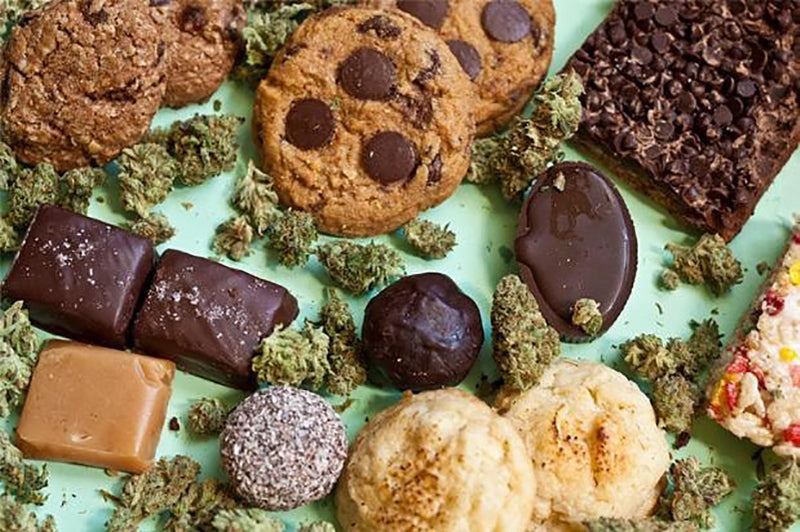 Weed edibles, image from Edibles by Granny on Instagram