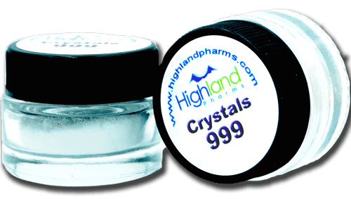 cbd crystal isolate