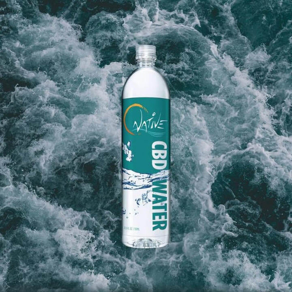 natural water cbd hemp infused