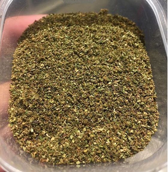 decarbed weed stash