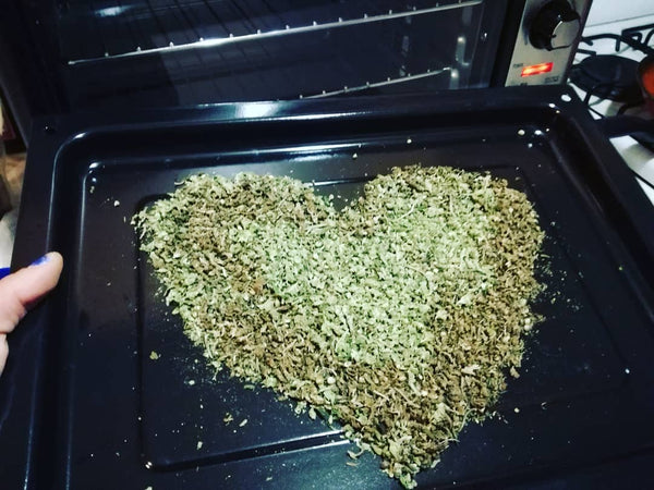 decarboxylation kush heart