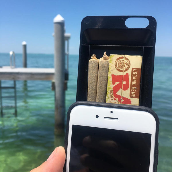 iphone stash case weed