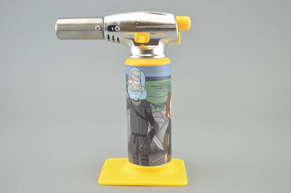rick and morty blow torch