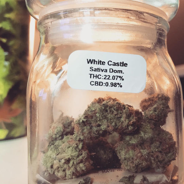 white castle cannabis nug