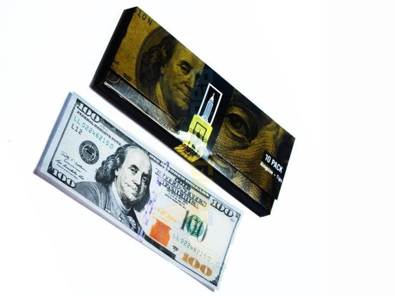 Rolling Papers 100 Dollar Bill Rolling Paper by Empire