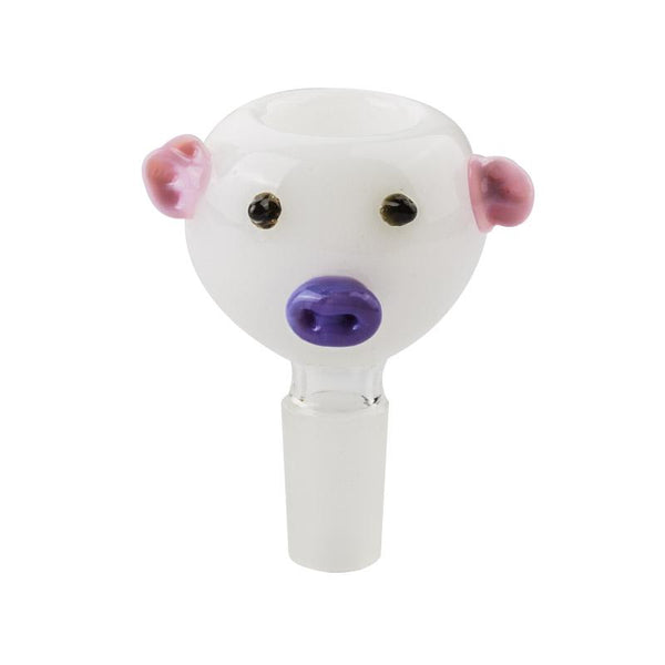 14mm Male Funny Pig Bong Bowl