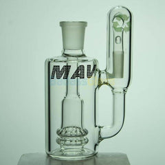18mm 90 Degree Double Showerhead Recycler Ash Catcher by Maverick