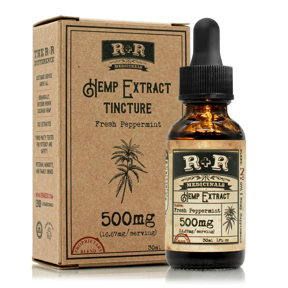 R+R Medicinals - Tincture Peppermint - 500mg