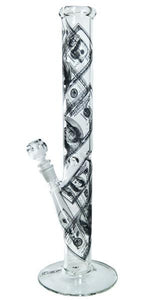 Water Pipes AMG Glass - Benjamins Straight Tube 18''