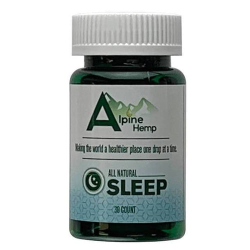 CBD Capsules Alpine Hemp - CBD Capsule - Sleep - 20mg
