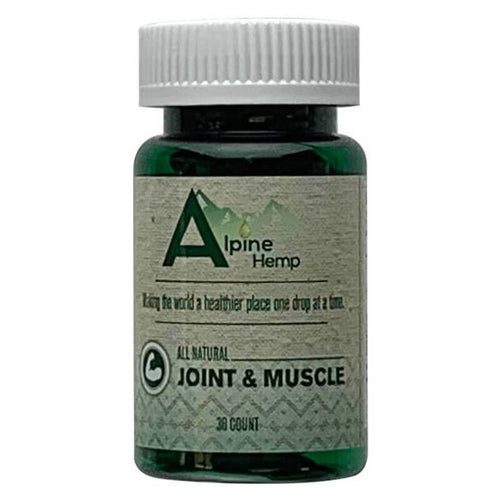 CBD Capsules Alpine Hemp - CBD Capsule - Joint and Muscle - 20mg