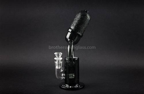 Mathematix Glass Old School Microphone Water Pipe