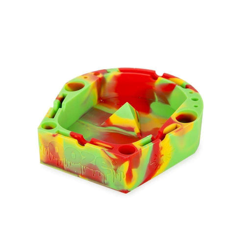 Ashtray Ooze Banger Tray - Rasta