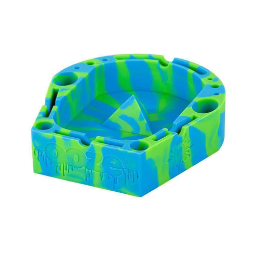 Ashtray Ooze Banger Tray - Green/Blue