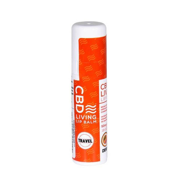 CBD Living - CBD Topical - Travel Sized Lip Balm Cherry - 50mg