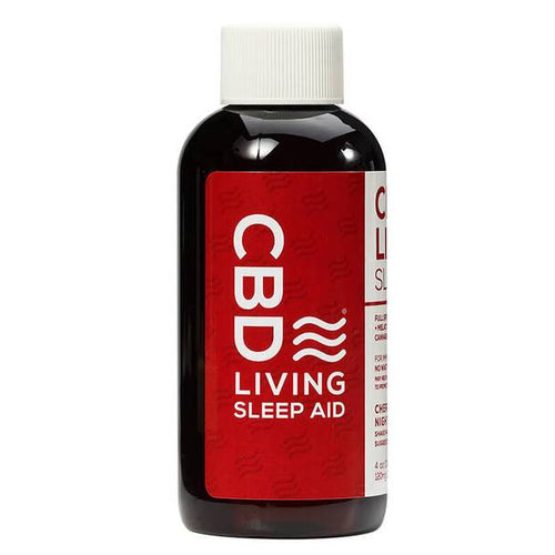 CBD Edibles CBD Living - CBD Drink - Cherry Syrup Sleep Aid - 120mg
