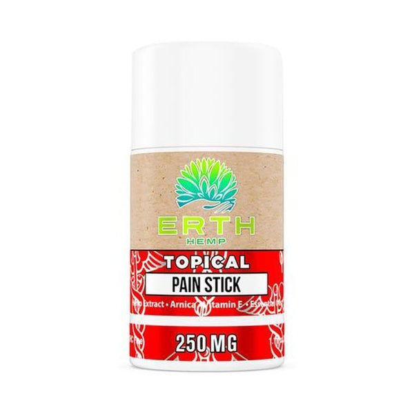 ERTH - CBD Topical - Essential Oil Pain Stick Salve - 250mg-1000mg