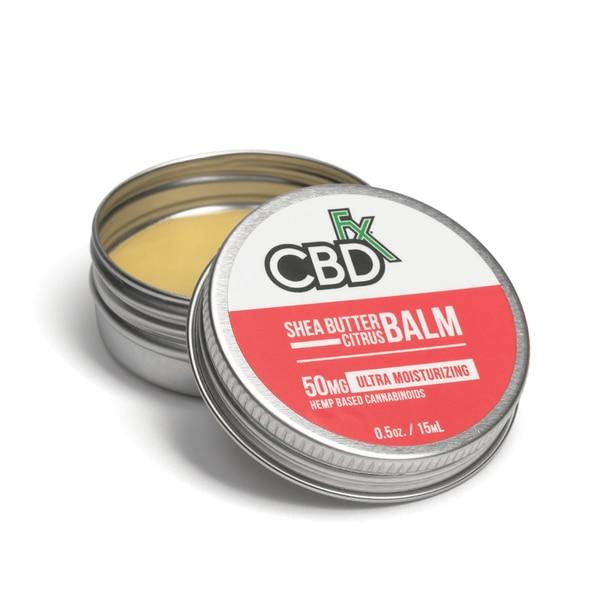 CBD Cream CBDfx - CBD Topical - Shea Butter Citrus Mini Balm - 50mg