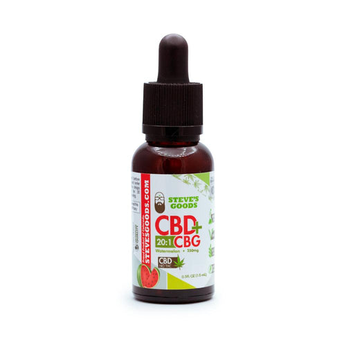 Steve's Goods Watermelon CBG Oil