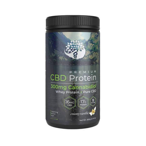 CBD Edibles Creating Better Days - CBD Drink Mix - Whey Protein Powder - 300mg