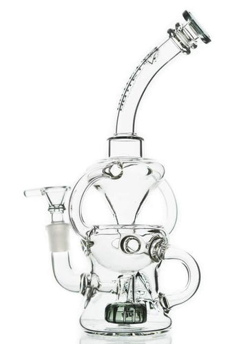 Tattoo Glass - Showerhead Perc Swiss Recycler Bong