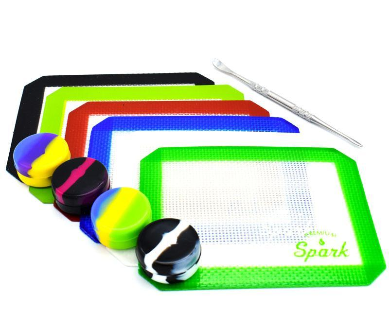 Silicone Concentrate Dab Mat and Tool Set
