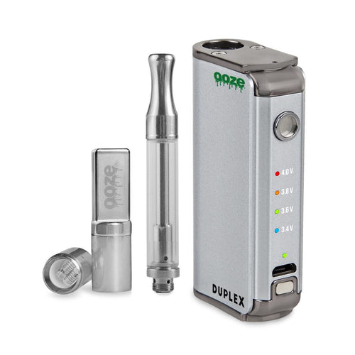 Special Offer Ooze Duplex Dual Extract Vaporizer - Silver
