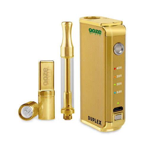 Special Offer Ooze Duplex Dual Extract Vaporizer - Gold