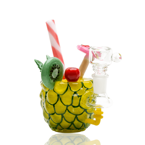 Bongs Mini Rig Pineapple Paradise by Glassworks