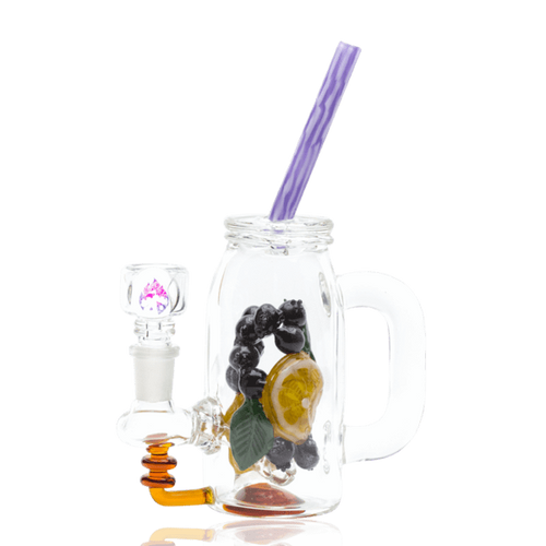 Bongs Mini Rig - Blueberry Orange Detox