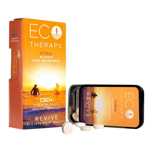 CBD Edibles ECO Therapy CBD - CBD Edible - Revive Mints - 10mg