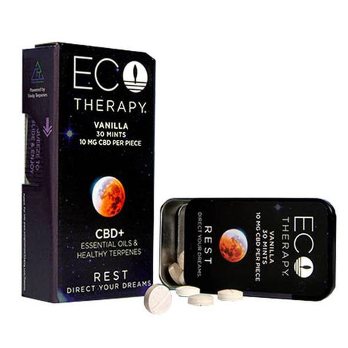 ECO Therapy CBD - CBD Edible - Rest Mints - 10mg