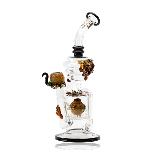 Empire Glassworks - Beehive Recycler Water Pipe