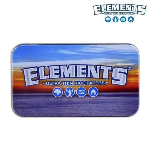 Elements Metal Tin Box