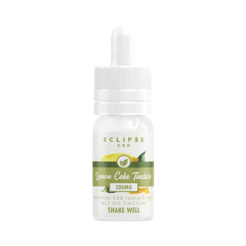 Eclipse CBD Lemon Cake CBD Isolate Tincture