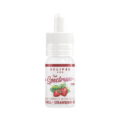 Eclipse CBD Strawberry Delight Full Spectrum CBD Tincture