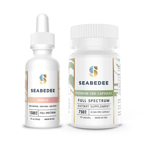 CBD Pain Relief Seabedee - EXTRA STRENGTH BUNDLE