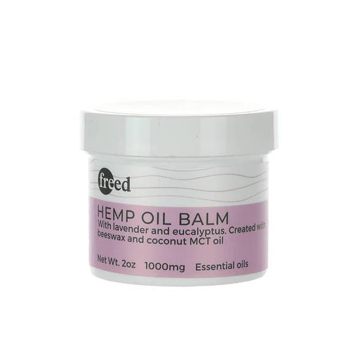CBD Cream Freed - CBD Topical - Balm - 1000mg