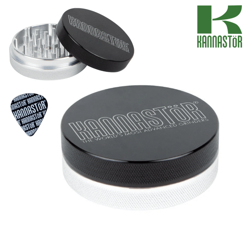 Kannastor grinder solid top with solid body 2 pcs