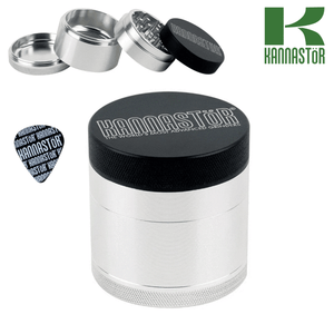 Kannastor grinder with solid top and solid body 2.2""
