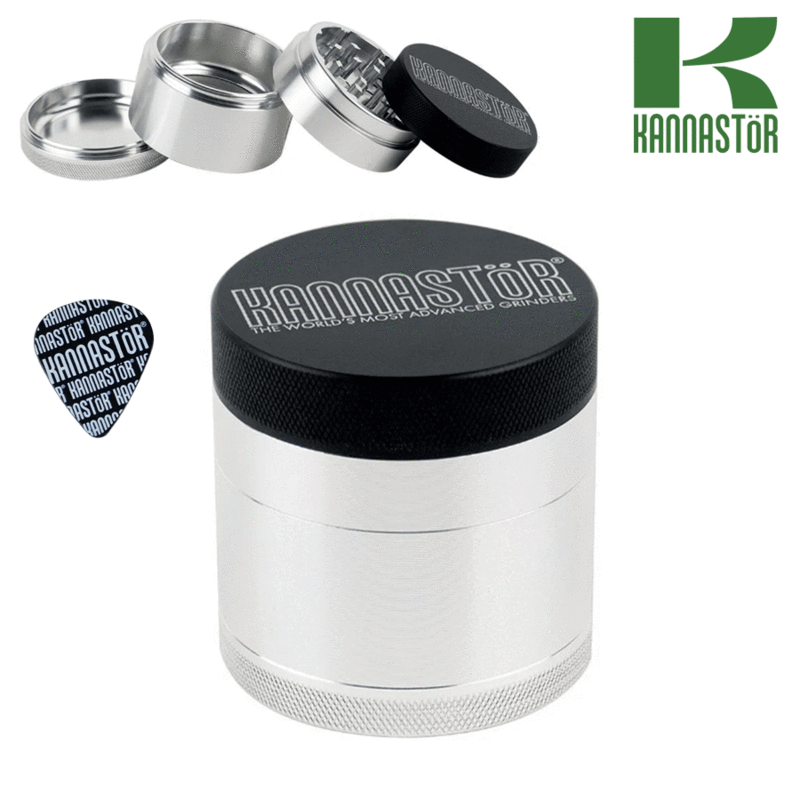 Kannastor grinder with solid top and solid body 2.2