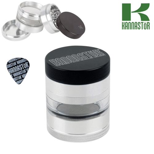 Kannastor grinder solid top with jar body 4pcs