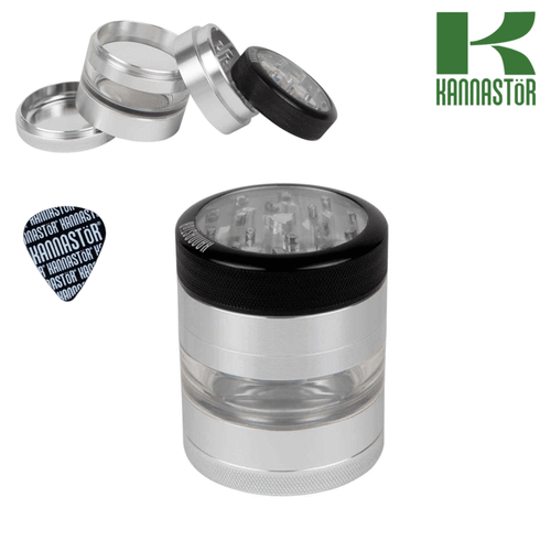 Kannastor grinder clear top and 4pcs