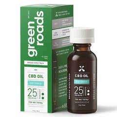 Green Roads - CBD Tincture - Broad Spectrum Mint Breeze Moderate - 750mg