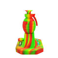 Hand Grenade Silicone Dab Straw