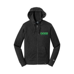 hoodies Ooze Logo Premium Zip-Up Hoodies