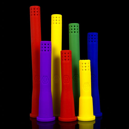 downstem and bowl ELEV8 - Solid Color Silicone Downstem